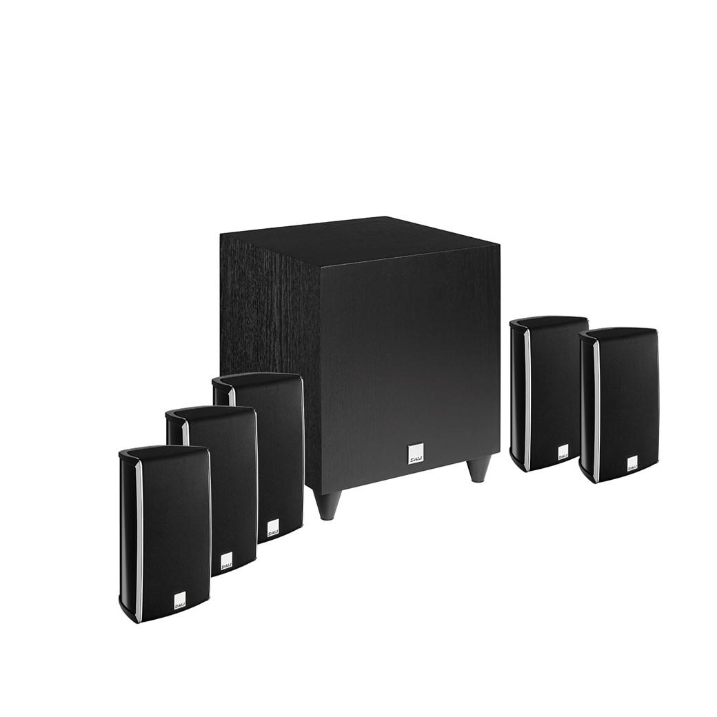 DALI DALI FAZON MIKRO + FAZON MIKRO VOKAL + SUB C-8 D 5.1 Høyttalersystem Høyttalersystem