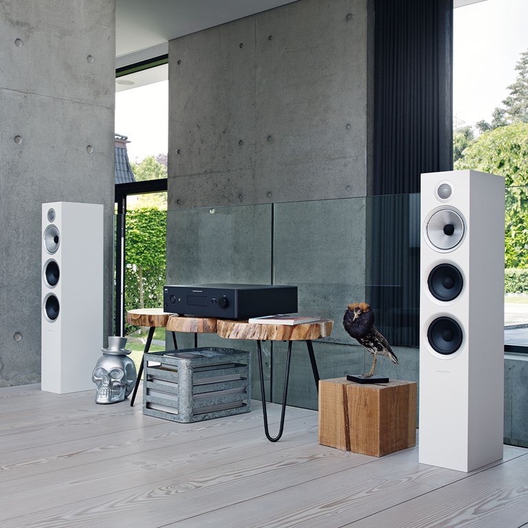 NAD NAD C388 + B&W 704 S2 Stereosysteem Stereosysteem