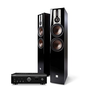 Denon PMA-1600NE + DALI OPTICON 6 Musikksystem