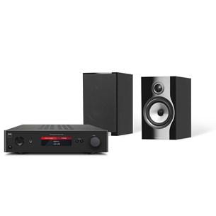 NAD C368 + B&W 706 S2 Musikkanlegg med Bluetooth
