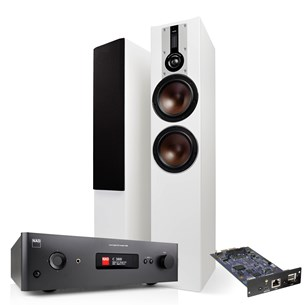 NAD C388 + MDC BluOS 2i + DALI OPTICON 6 Musikanläggning med streaming