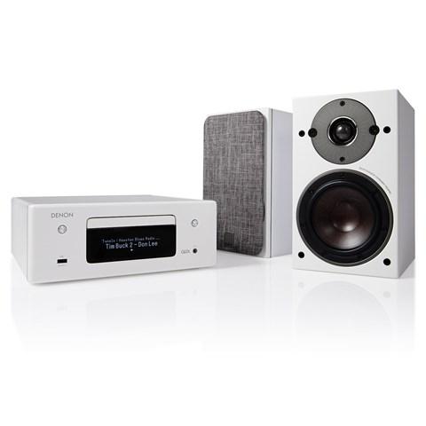 Denon Denon CEOL RCD-N10 + DALI OBERON 1 Stereo-Anlage Stereo-Anlage