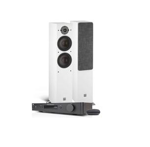 NAD C338 + DALI OBERON 7 + Google Nest Mini draadloos muzieksysteem