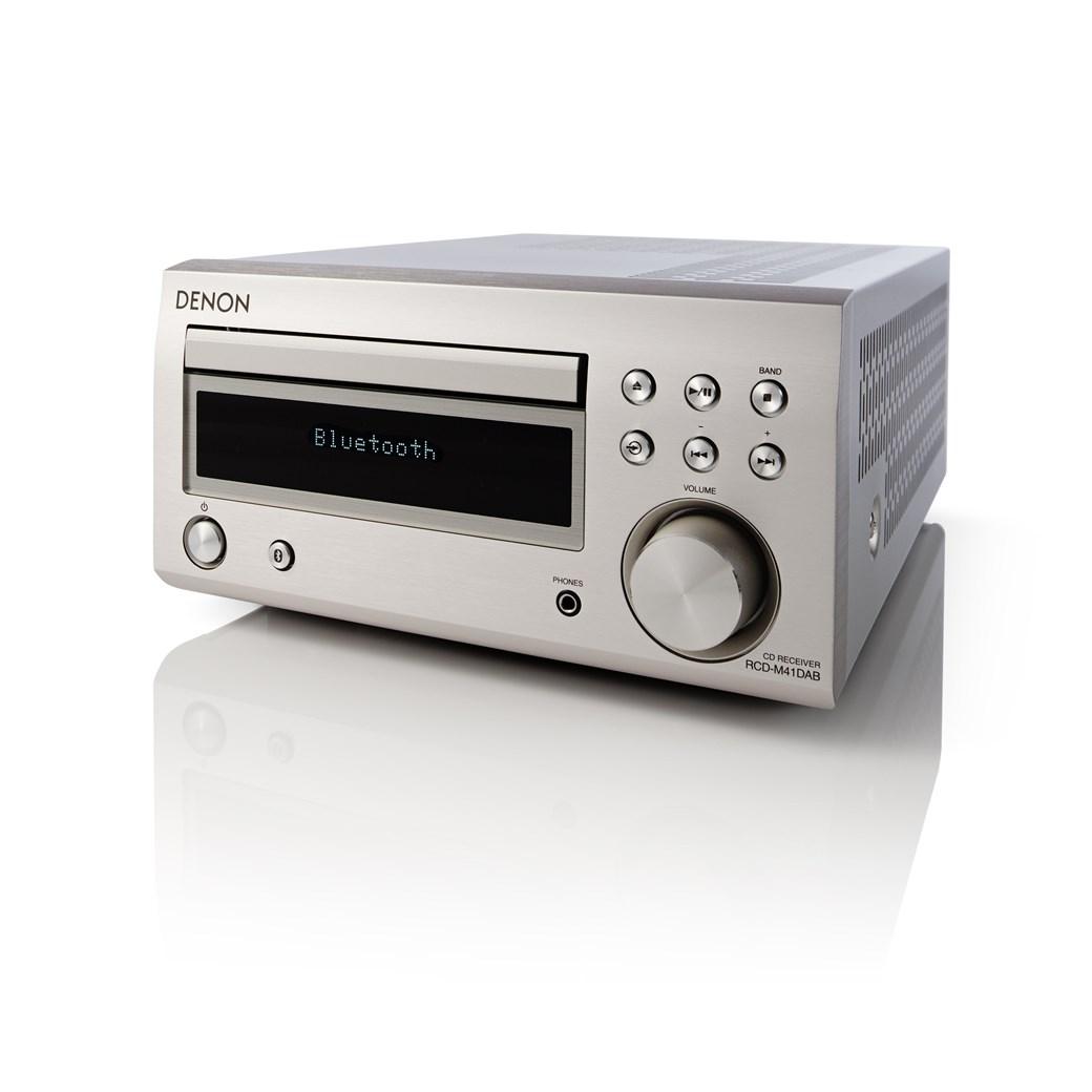 Denon RCD-M41 DAB Kompakter Verstärker mit Bluetooth