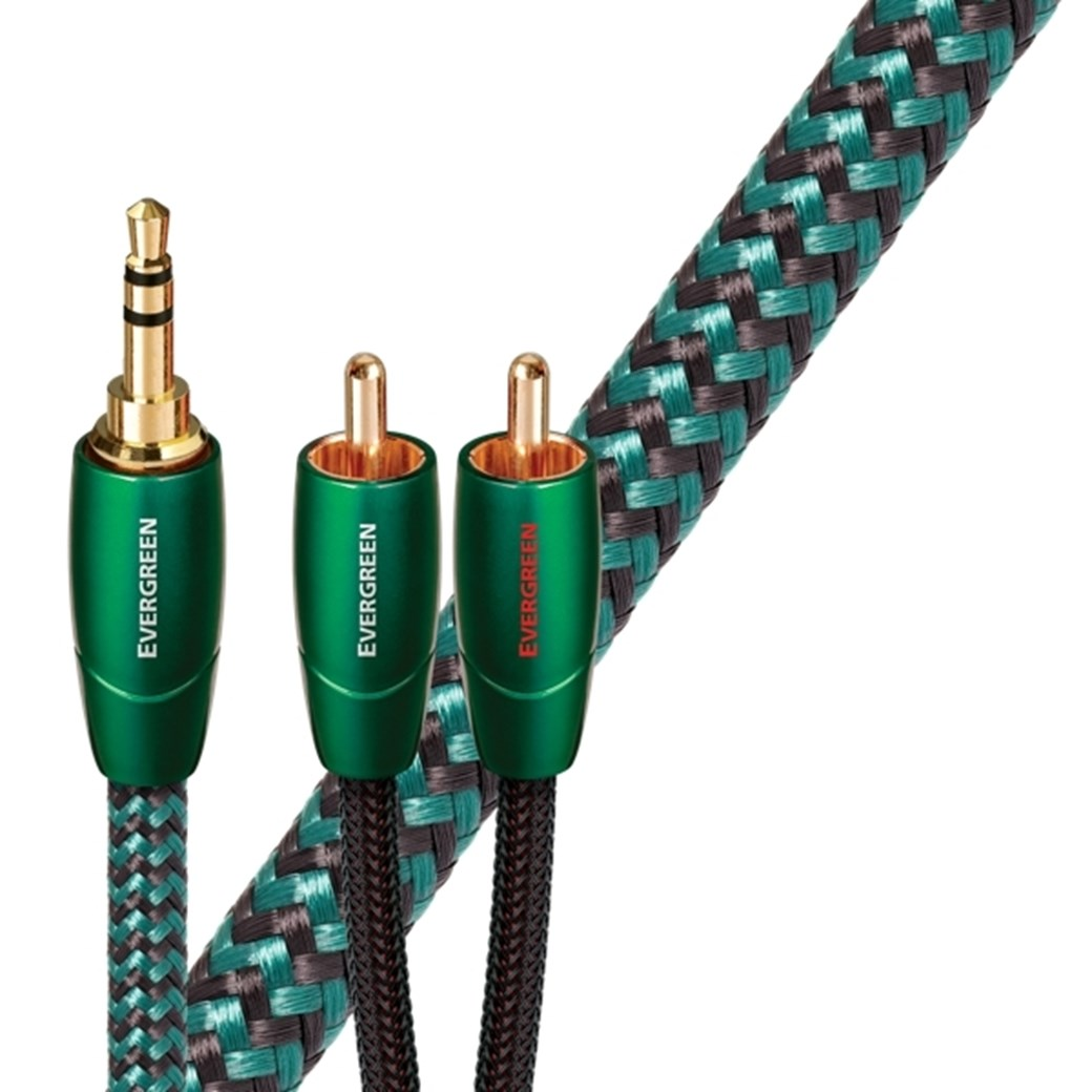 AudioQuest Evergreen MJ Mini-jack-kabel