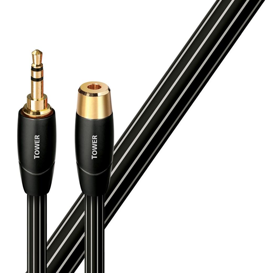 AudioQuest Tower Minijack Extender (1F/1M) kabel