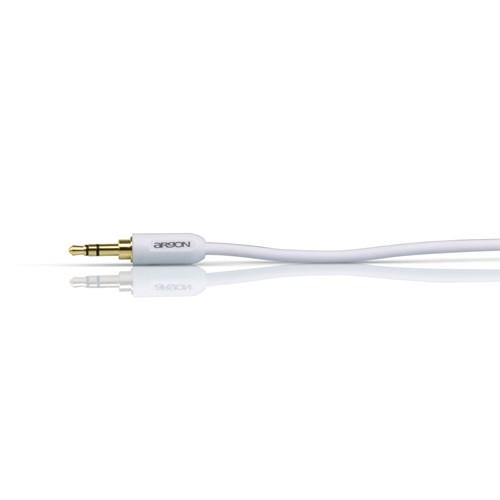 Argon Audio White Edition MJ1 Mini-jack-kabel