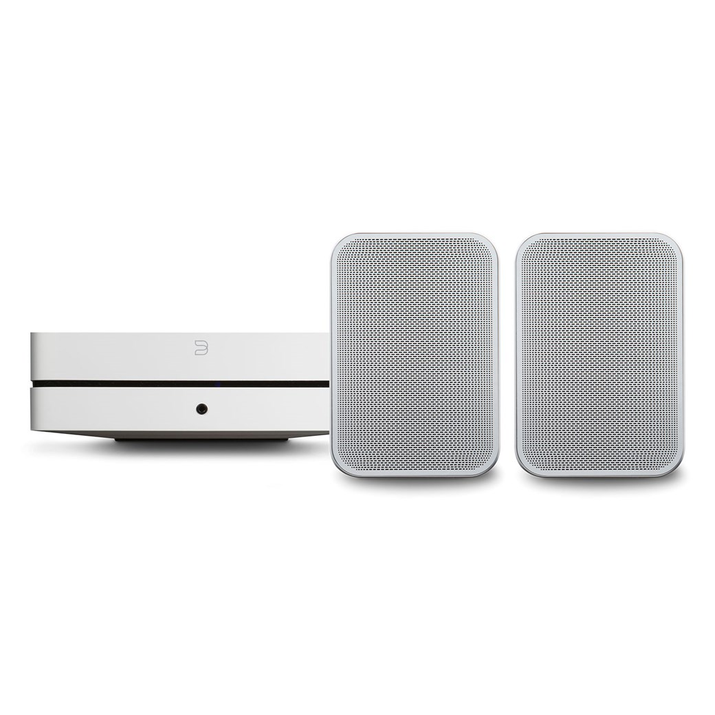 Bluesound Bluesound POWERNODE 2i (HDMI) + PULSE FLEX 2i Kompaktanlage mit Streaming Kompaktanlage mit Streaming