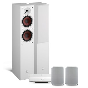 Bluesound POWERNODE 2i (HDMI) + PULSE FLEX 2i + DALI SPEKTOR 6 Heimkino-System