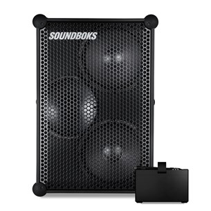 Soundboks The New SOUNDBOKS + BATTERYBOKS Bluetooth-Lautsprecher