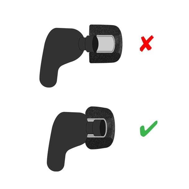 Comply TrueGrip Sennheiser M In-Ear-Plugs