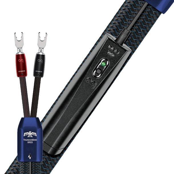 AudioQuest ThunderBird BASS (Spade) Luidsprekerkabel