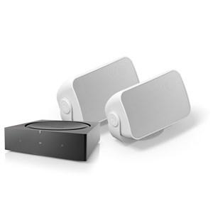 AMP + Outdoor Muzieksysteem met streaming