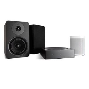 Sonos SONOS AMP + ARGON ALTO 5 MK2 + One (Gen 2) Digitalforsterker med streaming