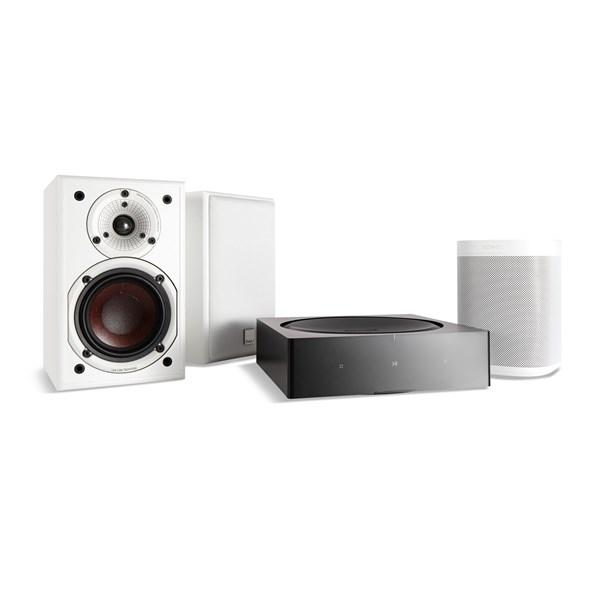 Bilde av Amp + Dali Spektor 1 + Sonos One (gen 2) Digitalforsterker Med Streaming
