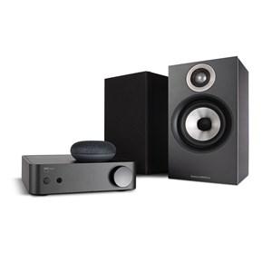 NAD AMP1 + B&W 607 + Google Nest Mini Trådløst musiksystem