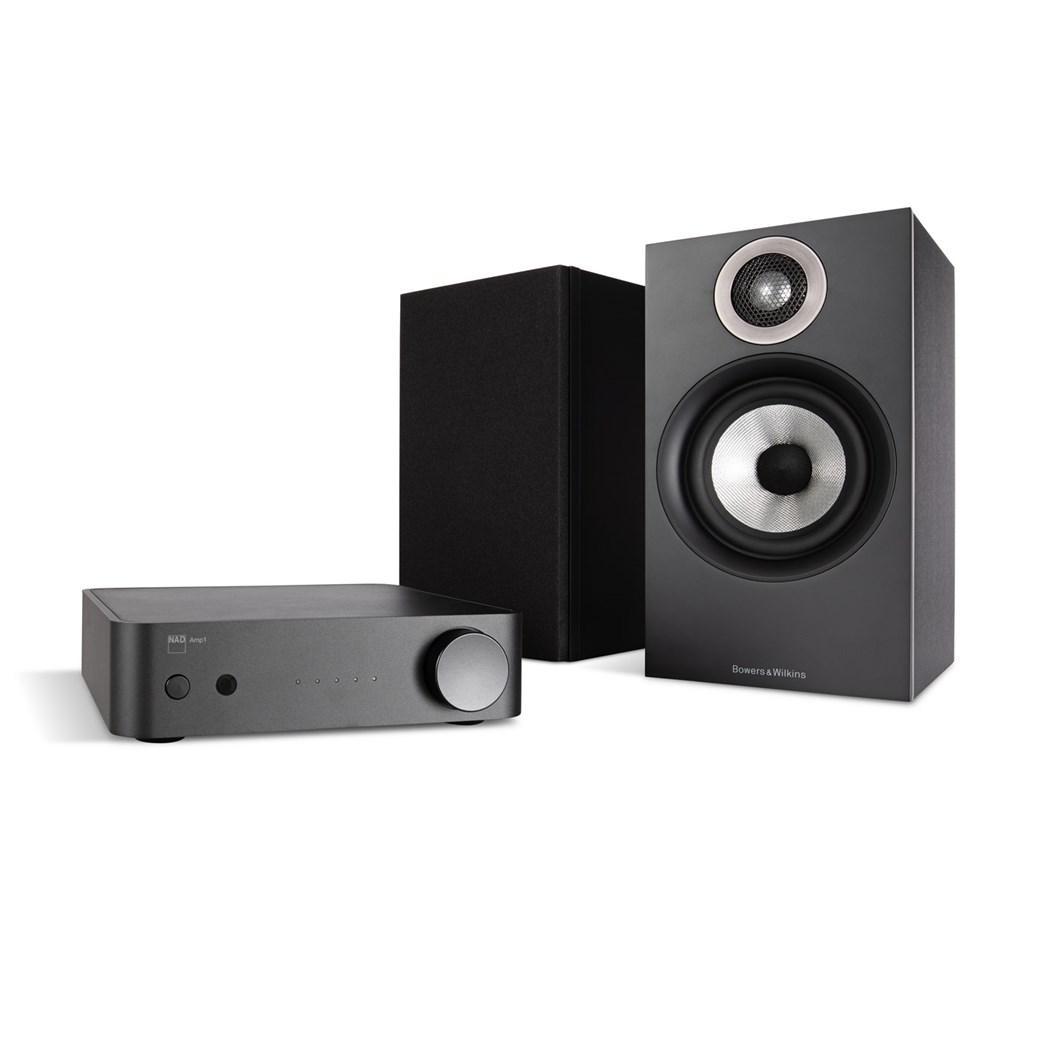 NAD NAD AMP1 + B&W 607 Stereo-Anlage Stereo-Anlage