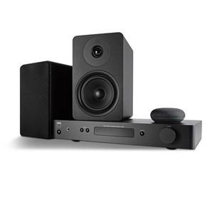 NAD C338 + ARGON ALTO 5 MK2 + GOOGLE NEST MINI Digitalforsterker med streaming
