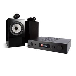 NAD C368 + B&W 705 S2 + MDC BLUOS 2I-MODUL Digitalforsterker med streaming