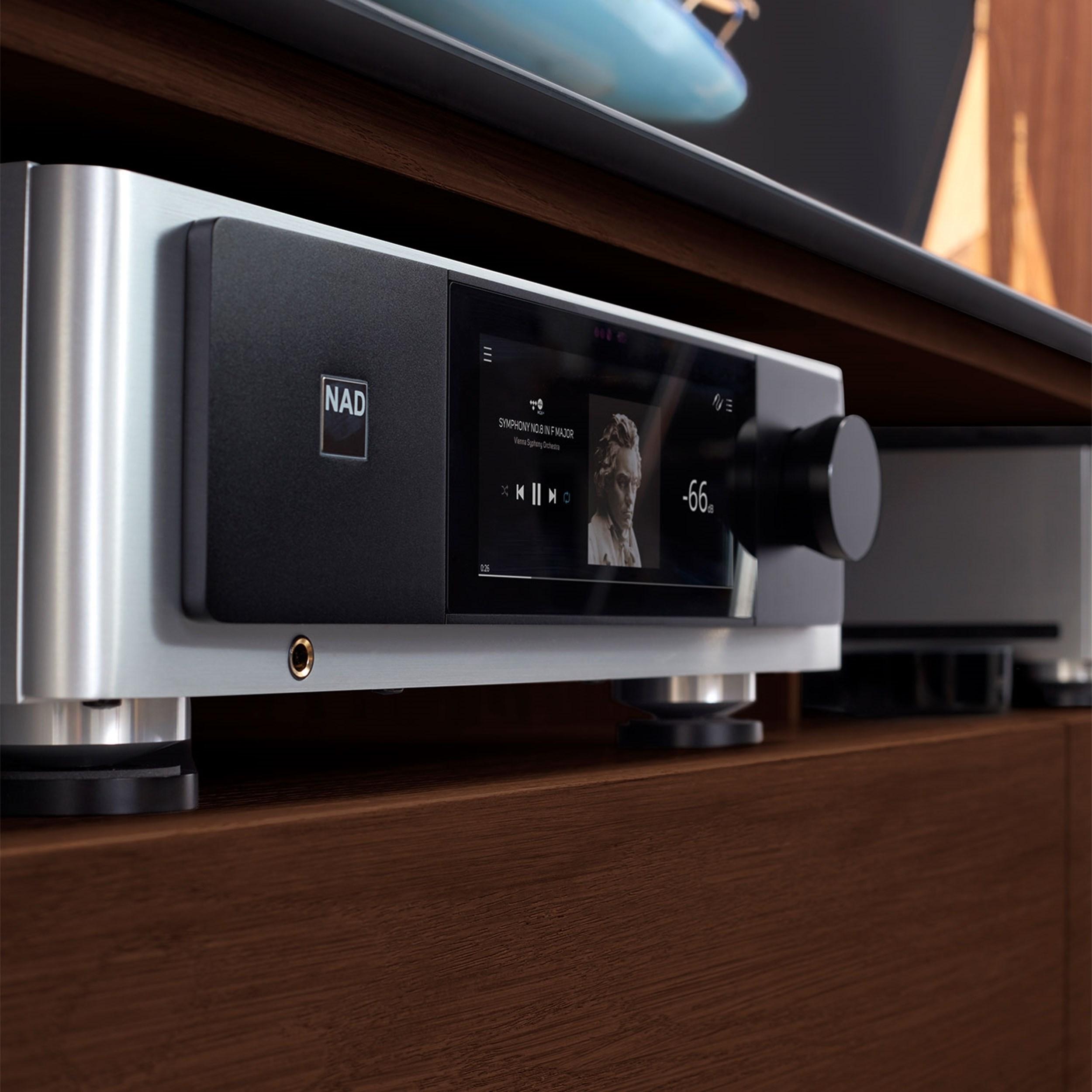 NAD M33 Stereoförstärkare med streaming