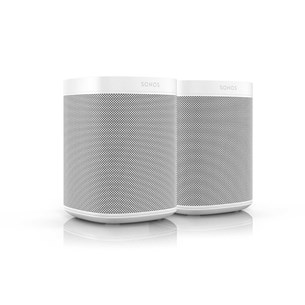 Sonos One (GEN2) x 2 Kompaktanlage mit Streaming