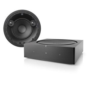 Sonos Amp + DALI Phantom E-60S Innbyggingssystem