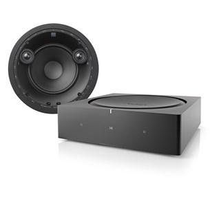 Sonos Amp + DALI PHANTOM E-60 S + DALI PHANTOM UNIVERSAL 25L Høyttalersystem