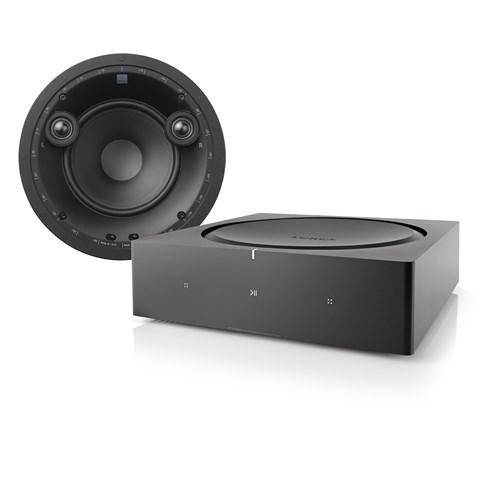 Sonos Sonos Amp + DALI Phantom E-60S Indbygningssystem Indbygningssystem