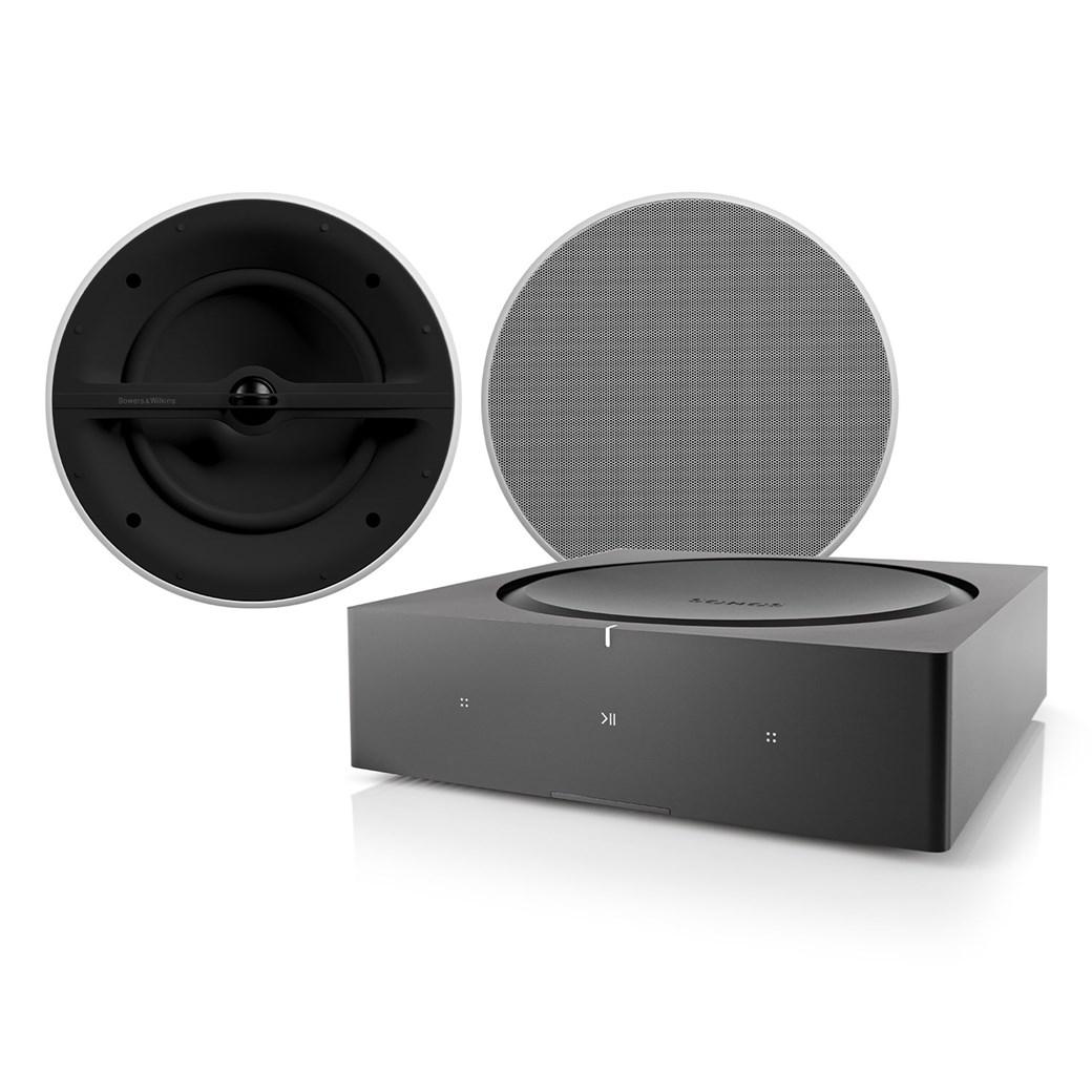 AMP + CCM362 + Phantom Backbox Uni 25L Högtalarsystem Högtalarsystem
