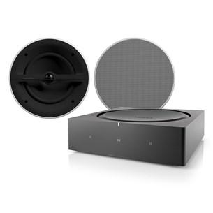 AMP + CCM362 + Phantom Backbox Uni 25L Høyttalersystem