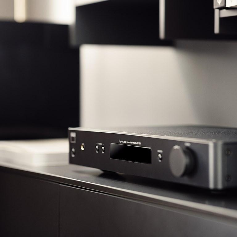 NAD C338 Stereoforstærker med streaming