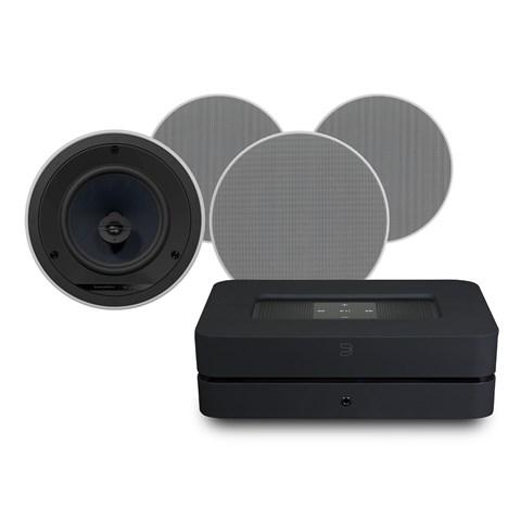 Bluesound Bluesound Powernode 2i (HDMI) + CCM683 + Phantom Backbox 25L Højtalersystem Højtalersystem