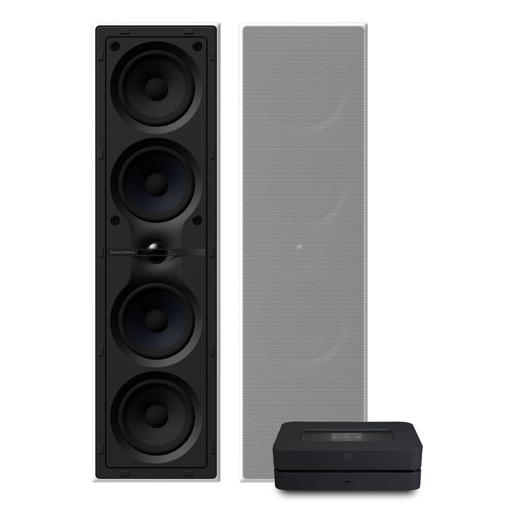 Bluesound Bluesound Powernode 2i (HDMI) + CWM 7.4 S2 + Backbox LCR 7 Högtalarsystem Högtalarsystem
