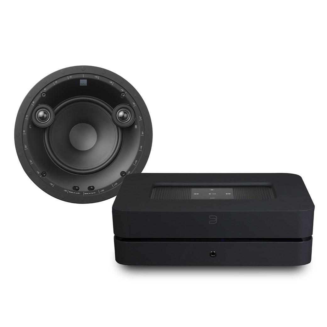 Bluesound Bluesound Powernode 2i (HDMI) + Phantom E60S + Phantom Backbox Uni 25L Högtalarsystem Högtalarsystem