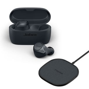 Jabra ELITE ACTIVE 75T + Mophie Wireless Charger In-ear høretelefoner