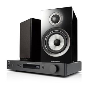 NAD C338 + B&W 707 S2 Digitalforsterker med streaming