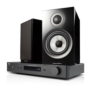 NAD C338 + B&W 707 S2 Digitale versterker met streaming