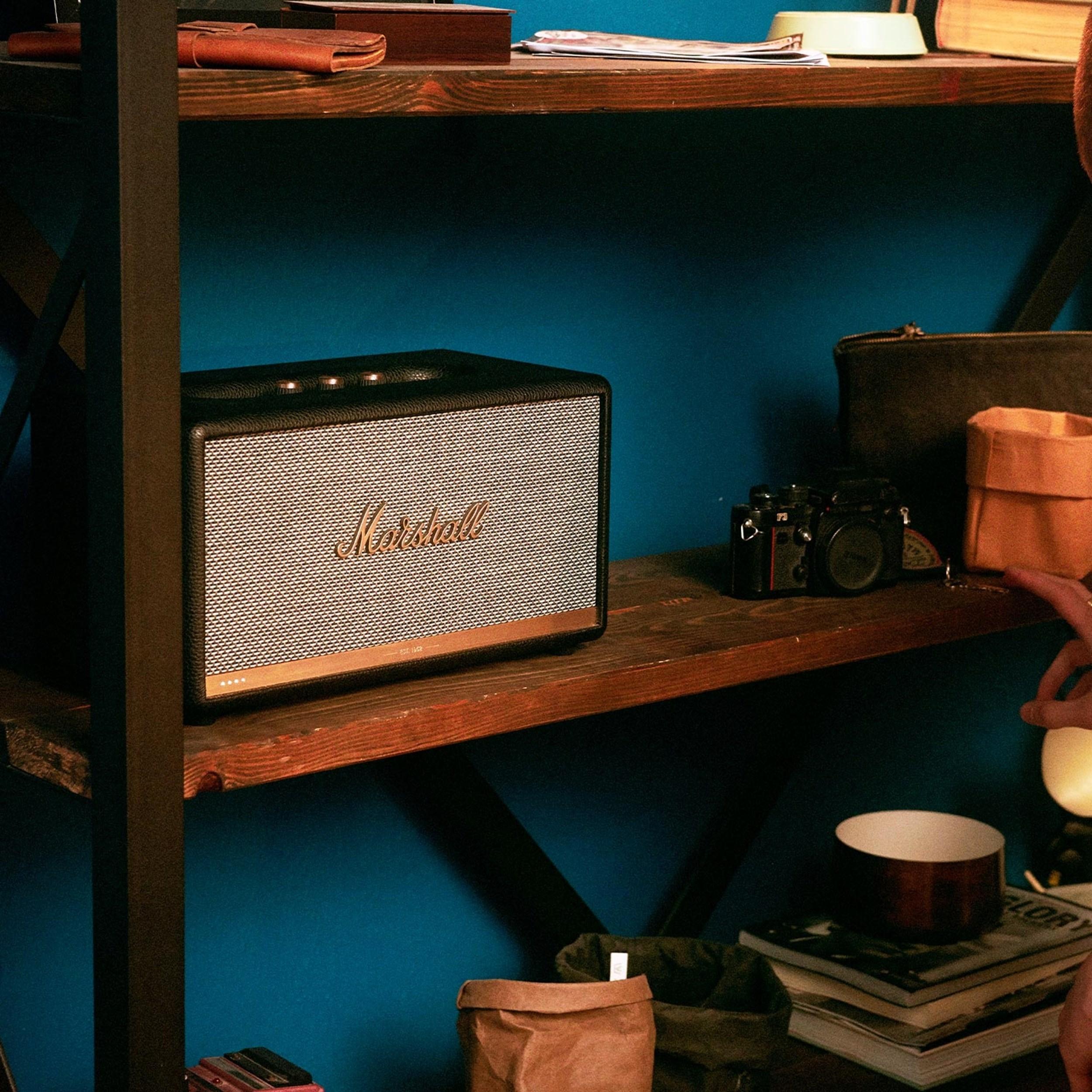 Marshall Stanmore II Voice Trådløs højtaler med Bluetooth
