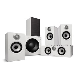 Bowers & Wilkins 607 S2 AE + HTM62 S2 AE + ASW610 M - 5.1 Højtalersystem