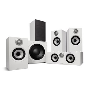 Bowers & Wilkins 607 S2 AE + HTM62 S2 AE + ASW610 M - 5.1 Lautsprechersystem