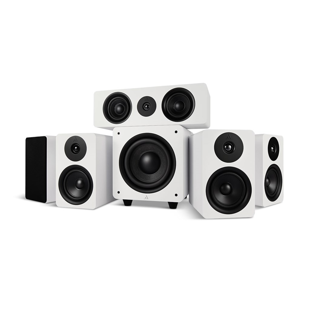 Argon Audio Argon Audio ALTO5 MK2 + ALTO C MK2 + BASS8 MK2 – 5.1 Lautsprechersystem Lautsprechersystem