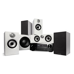 Denon AVR-X2700H + Bowers & Wilkins 607 S2 AE + HTM62 S2 AE + ASW610 M - 5.1 Hemmabiosystem