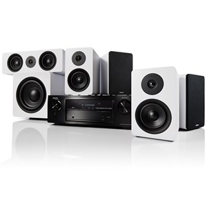 Denon AVR-X1600H + Argon Audio ALTO Surround 5.1 Hjemmebio-system