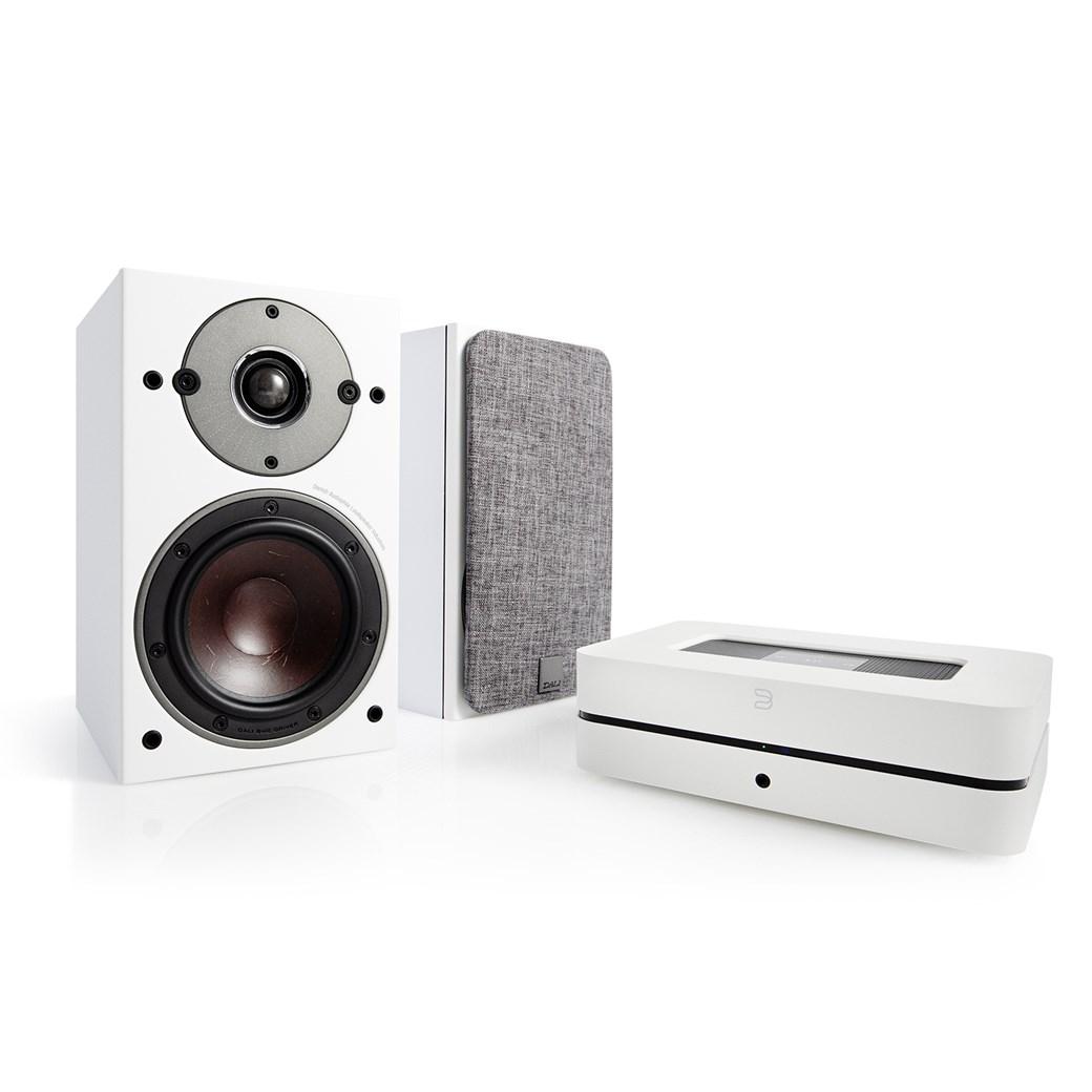 Bluesound Bluesound POWERNODE 2i (HDMI) + DALI OBERON 1 Stereoanläggning Stereoanläggning