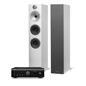 Denon PMA-1600 + B&W 603 Stereoanläggning