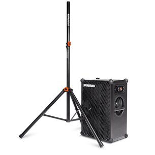 Soundboks The New SOUNDBOKS + Tripod Speaker Stand Bluetooth-Lautsprecher