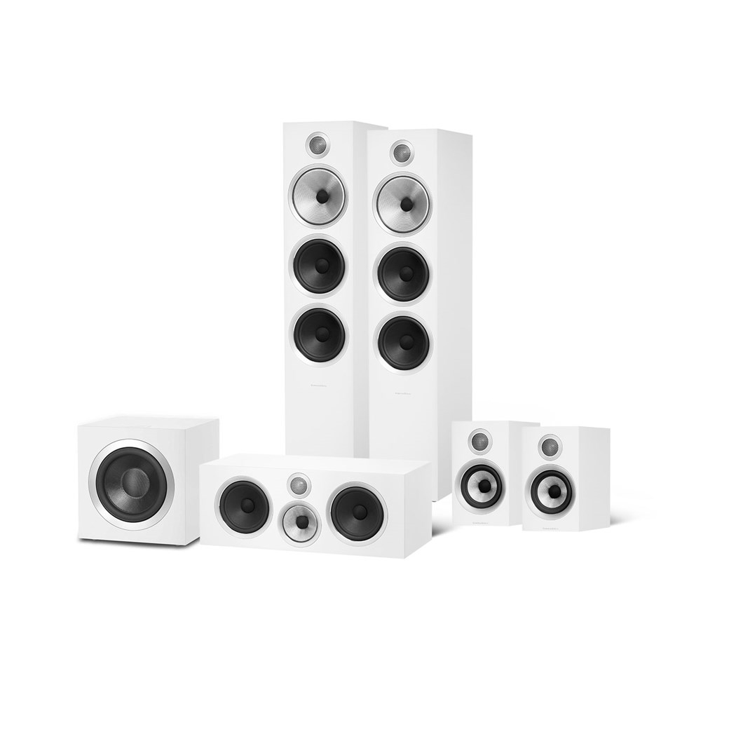 Bowers & Wilkins Bowers & Wilkins 703 S2 + 707 S2 + HTM71 S2 + DB4S 5.1 Lautsprechersystem Lautsprechersystem