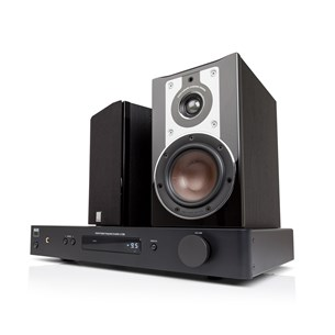NAD C338 + DALI OPTICON 1 Digital förstärkare med streaming