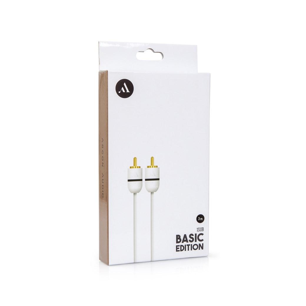 Argon Audio Basic Sub1 Subwooferkabel