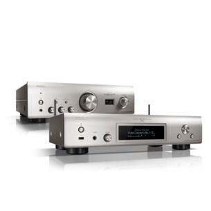 Denon PMA-1600NE + DNP-800NE Stereosystem